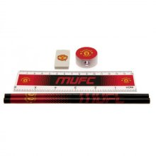 Manchester United F.c. Core Stationery Set Fd Official Merchandise - Fc Football -  core stationery set manchester united fc fd official football
