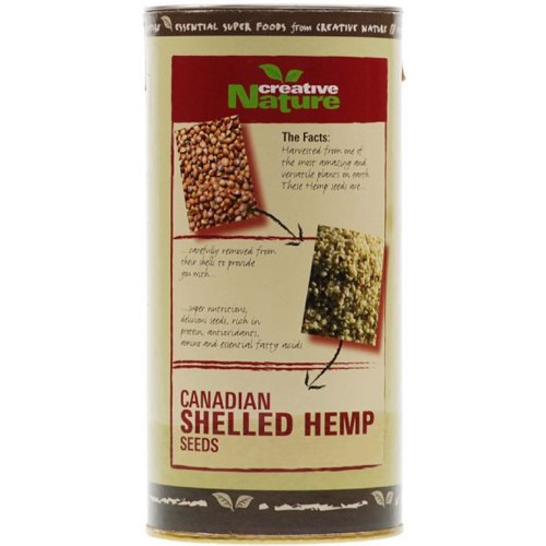 Creative Nature Organic Shelled Hemp Seeds 300g