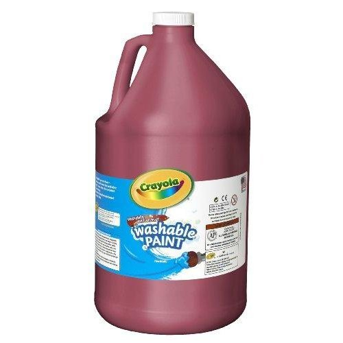 Crayola 54-2128-038 Washable Paint, Gallon Size, Red