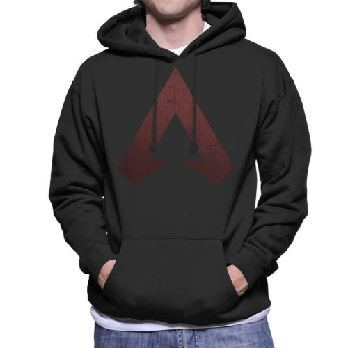 Apex Legends Distressed Logo Men's Hooded Sweatshirt