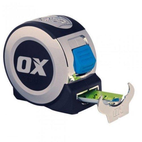 Ox P020908 Pro 8 Metre 26ft Tape Measure Chrome