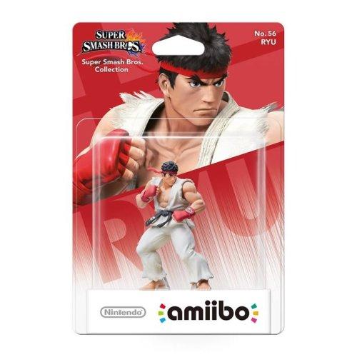 Ryu Amiibo Character - Super Smash Bros. Collection Nintendo Wii U/3DS No.56