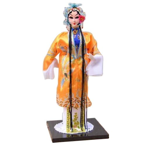 Traditional Chinese Doll Peking Opera Performer - Sun Shang Xiang
