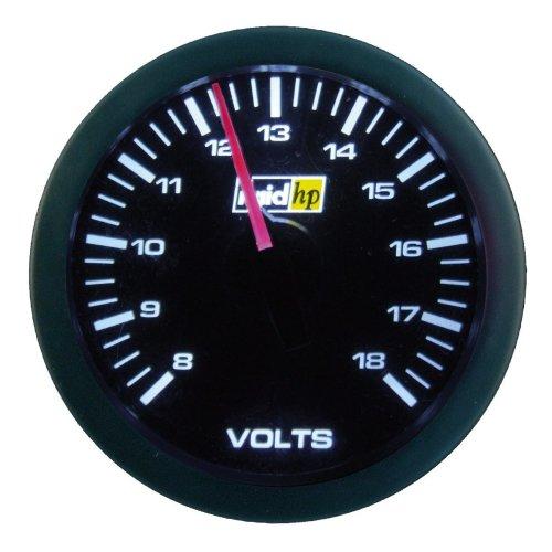 Raid HP 660179 Sport Series Auxiliary Volt Meter Gauge
