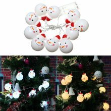 1.2M 10LED Snowman String Fairy Light
