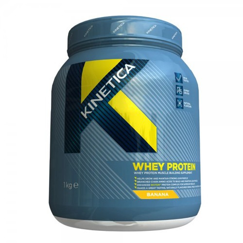 Kinetica Whey Protein 1kg Strawberry