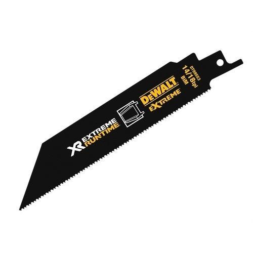 DeWalt DT99553-QZ FlexVolt Xtreme Runtime Metal Reciprocating Blades 152mm 14/18 TPI Pack of 5