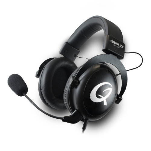 Qpad QH-92 High End Stereo Gaming Headset Closed Ear Noise Cancelling Detac QH-92