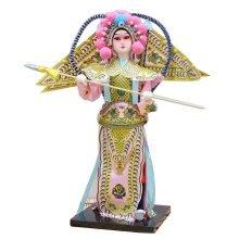 Traditional Chinese Doll Peking Opera Performer - Yang Zong Bao