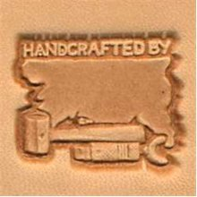Handcrafted By 3d Leather Stamping Tool