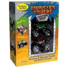 Creativity for Kids Monster Trucks Custom Shop (2-Pack)