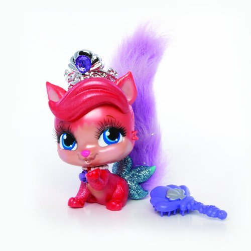 Disney Princess Palace Pets Talking And Singing Collectibles - Ariel\'s Kitty Treasure
