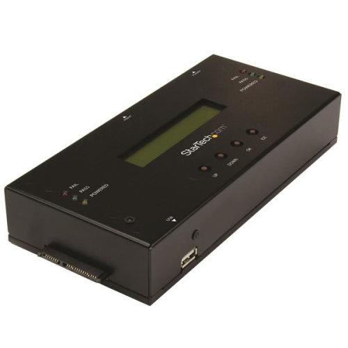 StarTech.com 1:1 Standalone Hard Drive Duplicator and Eraser for 2.5  / 3.5  SATA and SAS Drives