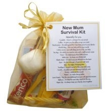 New Mum Survival Kit Gift (Yellow) - A sweet gift for mum-to-be / baby shower