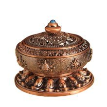 Tea Room Temple Ornaments Auspicious Sandalwood Incense Burner Stove Vaporizer