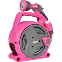 Hozelock Seasons Pico Reel with 10 m Hose Pink 2425 6720