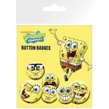 Spongebob Expressions Badge Pack