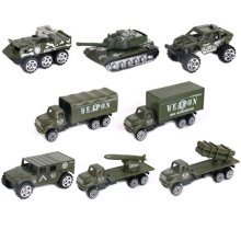 Soldier Scene Models Little Soldier Car Models Children's Toy Accessories #6