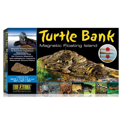Exo Terra Turtle Bank Magnetic Floating Island Medium 29.8x17.8x5.4cm