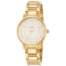 Kate Spade New York 1YRU0789 Ladies Scallop PVD Gold Plated Steel Watch