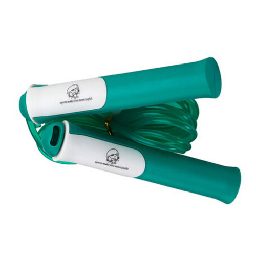 Fitness Training Jump Rope with Comfort Handle Jump Rope Workouts,Green