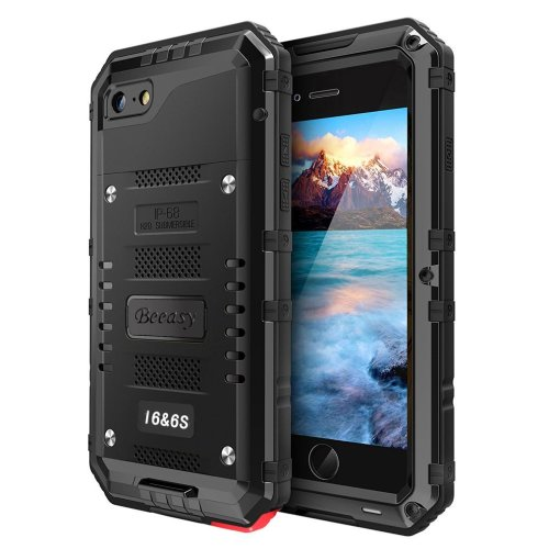 new styles bdd48 8efaa iPhone 6 Case & iPhone 6s Case Heavy Duty with Screen Full Body Protective  Waterproof, Impact Strong, Shockproof Dust Proof Tough Rugged Cover...