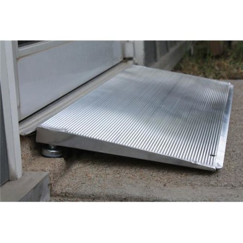 Prairie View Industries 12 in x 32 in Adjustable Threshold Wheelchair Ramp 800 lb. Weight Capacity  1 in - 2 in Rise