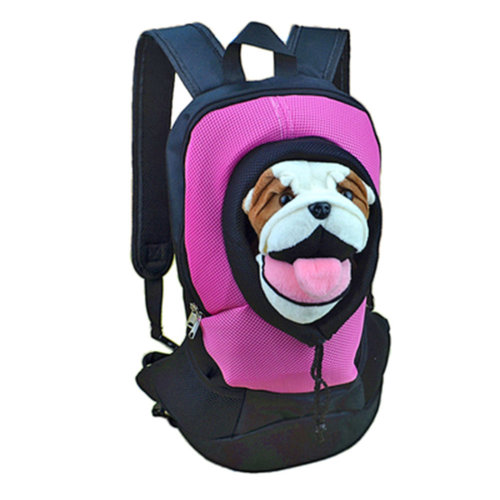 Pet Carrier Soft Sided Travel Bag for Small dogs & cats- Airline Approved, Pink #21