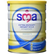 SMA Extra Hungry Infant Milk from Birth, 800 g - Pack of 6