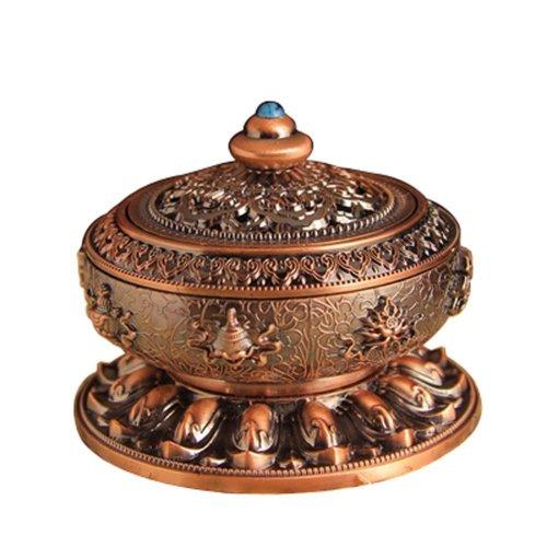 Tea Room Temple Ornaments Auspicious Sandalwood Incense Burner Stove Vaporizer