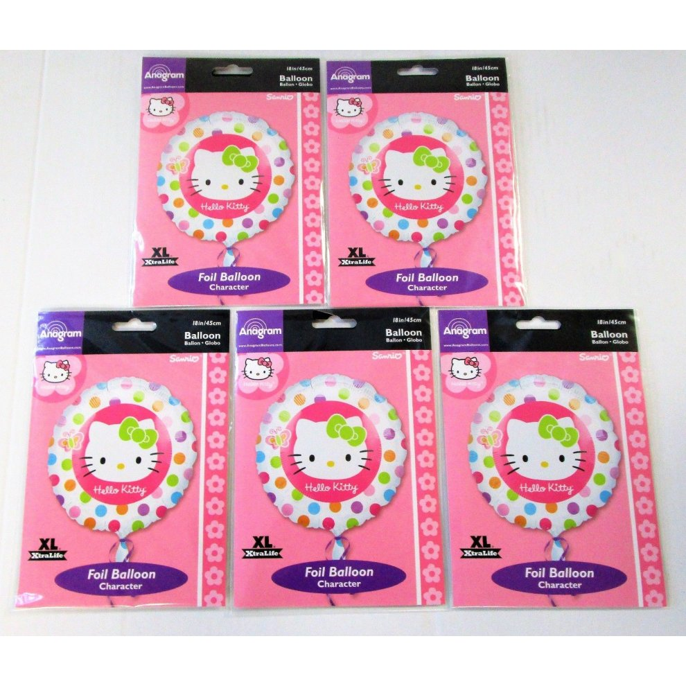 67a59de7a Pack of 5 Hello Kitty 18