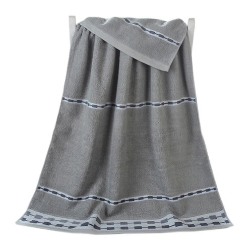 100% Cotton Soft Large Beach Towels 140*70cm, Grey
