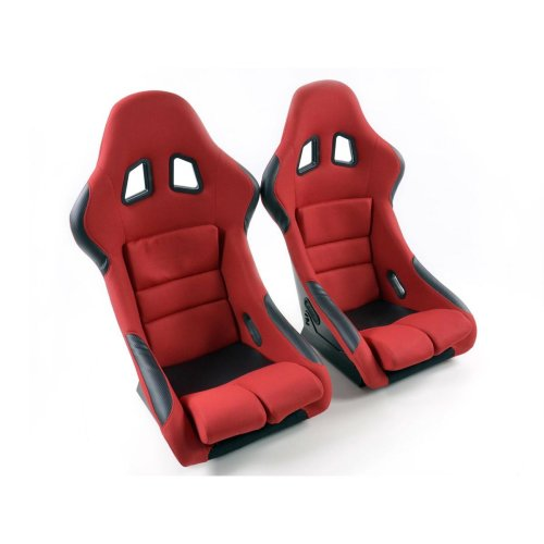 Sportseat Set Edition 2 fabric red /