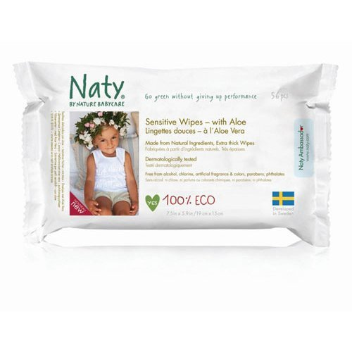 Nature Baby  Sensitive Wipes With Aloe 390g