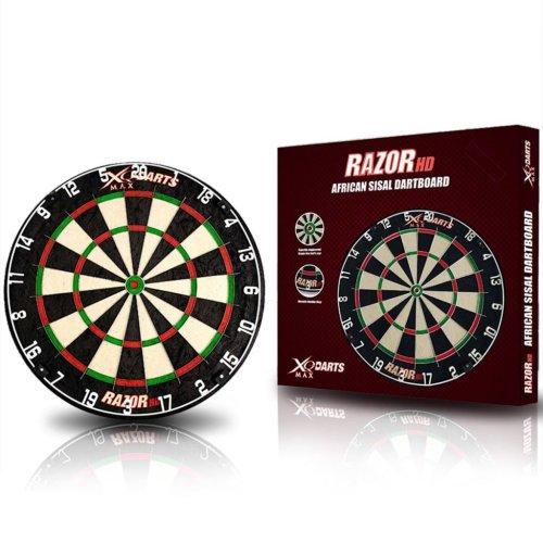 XQmax Darts Dartboard Razor HD Sisal 45.5 cm QD6000020