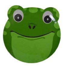 Epicurean 39rq8110f Melamine Friendly Faces Frog Design Plate, 25 x 21.5 x 1.7 -  x epicurean 39rq8110f melamine friendly faces frog design plate 25
