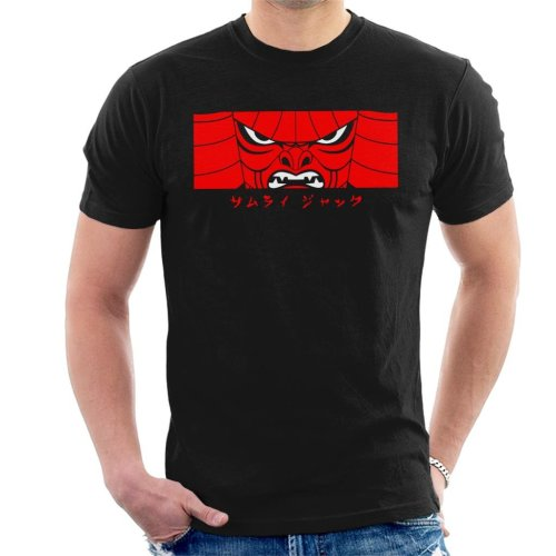 Samurai Jack Is Back Mask Men's T-Shirt
