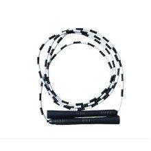 Beading Jump Rope Segmented Skipping Rope Adjustable Jump Rope (Black)