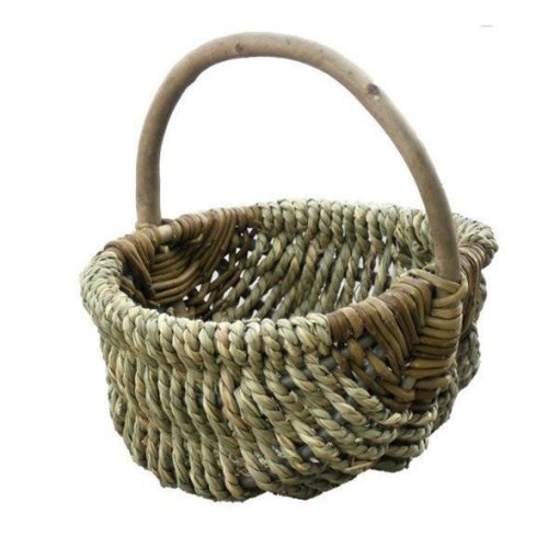 Large Millie Sea Grass Shopping Basket
