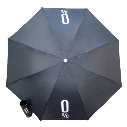Unique Fashion Gift Winebottle Shape Umbrellas Folding Umbrella BLACK