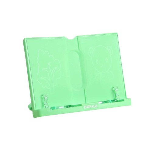 Creative Book Stand Reading Holders Bookends Book Racks, Light Green