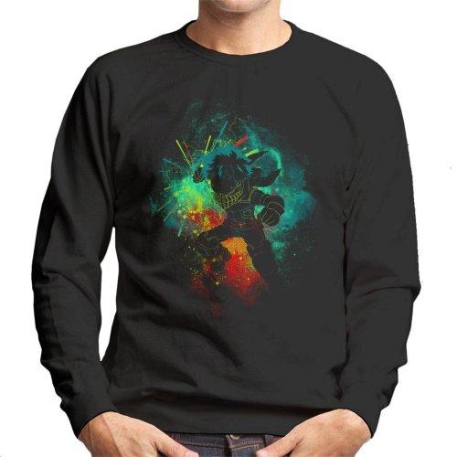 Deku Silhouette My Hero Academia Men's Sweatshirt