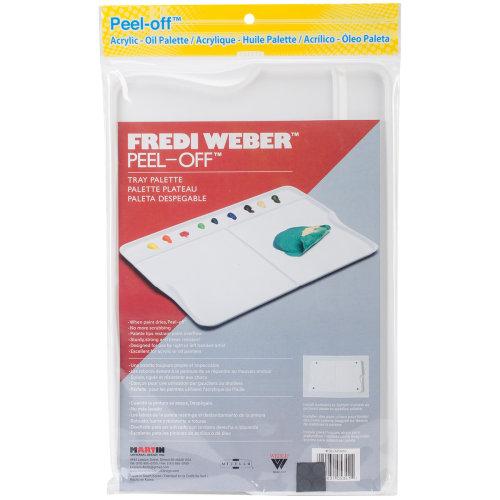 """Mijello Fredi Weber Peel-Off Palette Tray-13.5""""X9"""""""