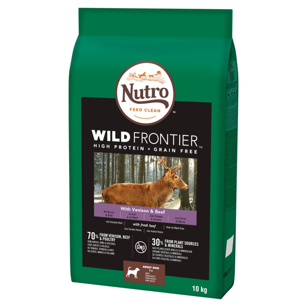Nutro Dog Dry Wild Frontier Adult Medium With Venison Beef 10kg