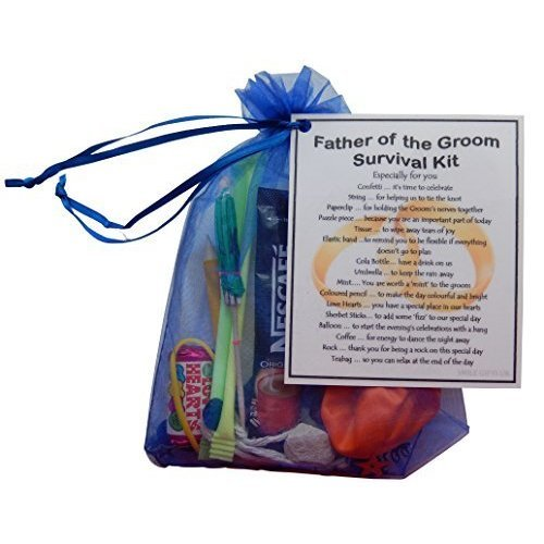 Father of the Groom Survival Kit  - Fun novelty gift