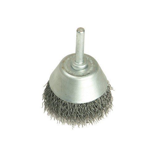 Lessmann 435.162 Cup Brush with Shank D50mm x 20h x 0.30 Steel Wire