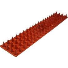 36 m Prikka-Brick-Strip Intruder Excluder For Wall Tops - Terracotta