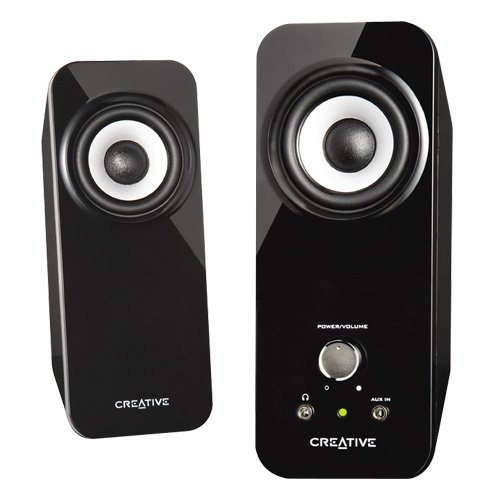 Creative Inspire T12 2 0 Multimedia Speaker System with Bass Flex Technology