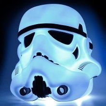 Groovy Star Wars Storm Trooper Large Character Head Mood Bedroom Portable Light