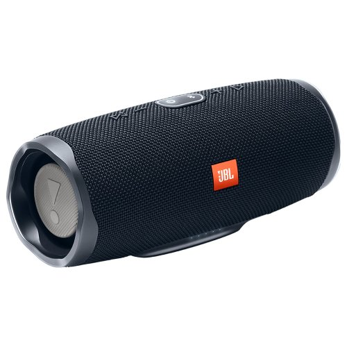 JBL Charge 4 Portable Bluetooth Speaker - Black
